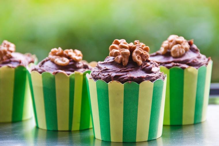 Šokoladiniai keksiukai su alumi 2