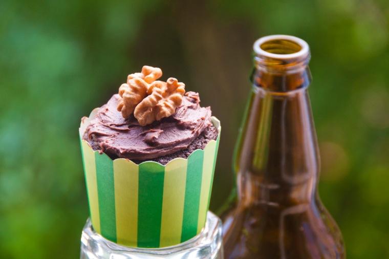 Šokoladiniai keksiukai su alumi 4